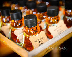 honey wedding favors oh so sweet wedding favors snow in july designs