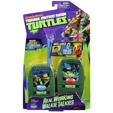 amazon com teenage mutant ninja turtles shell walkie talkie toys