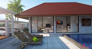 2 house with pool choeng mon 2 bedroom pool villas samui samui island realty