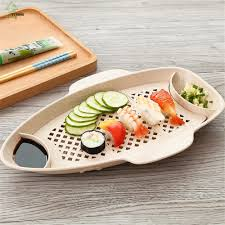 assiette de cuisine yi hong bateau boulette plaque sushi plaque cuisine fruits
