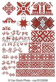 stock illustrations of ethnic ornaments patterns and elements