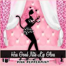 pink peppermint martini hiss good nite pink peppermint lip gloss honeycat cosmetics