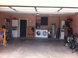 garage remodeled painted walls chalkboard paint on door and