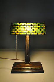 Antique Handel Desk Lamp Green Bankers Lamp Shade Only On Popscreen