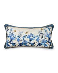 strongwater pillows strongwater poppy 11x22 pillow neiman