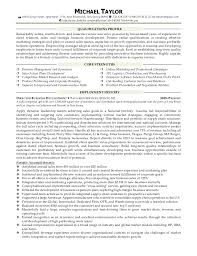 Sample Resume Business by Michael Taylor Resume Sales Business Development Account Management U2026