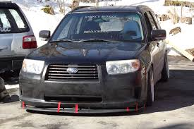 stanced subaru forester a useless forester build