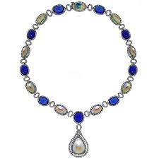 real blue opal june birthstones american gem society