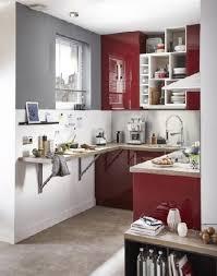 creer une cuisine dans un petit espace cuisine 10 aménagements déco gain de place plan de