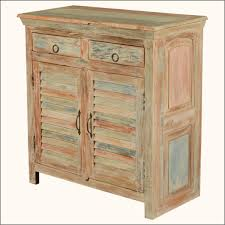 Wood Storage Cabinets With Drawers Furniture Reclaimed Wood Storage Cabinet With Shutter Door Panel