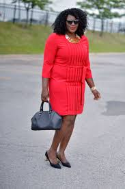 Plus Size Casual Work Clothes Best 25 Plus Size Red Dress Ideas Only On Pinterest Girls Red