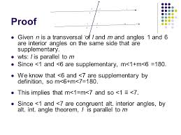 Same Side Interior Definition 3 2 More Neutral Theorems Pasch U0027s Axiom If A Line L Intersects δ
