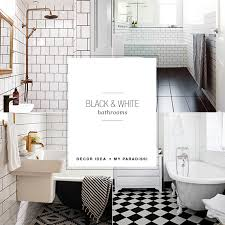 and white bathrooms my paradissi