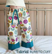 pattern pajama pants the inspired wren tutorial burrito cuff pj pants
