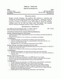 Automotive Resume Examples by Manager Resume
