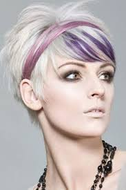 funky hairstyle for silver hair blonde hair funky color google search hair inspiration