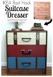 apothecary drawers ikea suitcase dresser ikea rast hack suitcase dresser and drawers