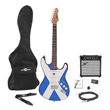 la electric guitar amp pack scottish flag at gear4music com