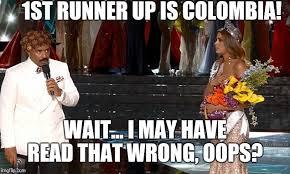 Colombia Meme - steve harvey universe imgflip