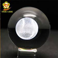 large glass balls with 3d laser engraved photo tl 0320