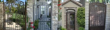 paul s iron fence gate wrought iron fence gate contractor