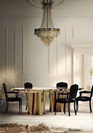 6 elegant dining room tables in brass inspiration and ideas from