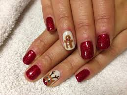 shellac nail designs for short nails