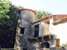 castle for sale in cap bénat with sea view parc private and