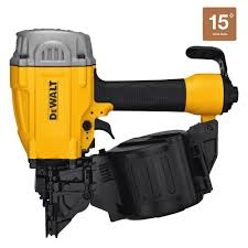 Central Pneumatic Framing Nail Gun by Dewalt Pneumatic 15 Degree Coil Roofing Nailer Dw45rn The Home Depot