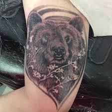 grizzly bear face tattoo u2013 best bear 2017