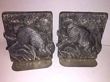 bunny bookends rabbit bookends ebay