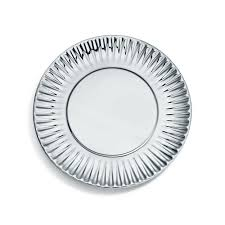paper plates shop everyday objects sterling silver paper plate co