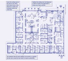 Floor Plan For Office Review Of Optometry A Game Plan For Better Office Design Office