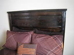 reclaimed wood headboard king ana white reclaimed wood headboard diy projects
