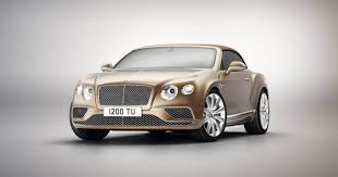 bentley celebrates the continental gt with new timeless series