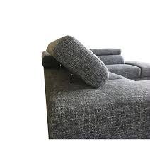 canap narbonne gris narbonne canape dangle avec appuis tete en tissu angle