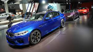bmw u0027s l a auto show stand was a celebration of colorful cars