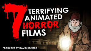 7 terrifying animated horror films 1080p hd illustrated short