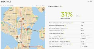 Map Of Seattle Airport by Study Traffic In Seattle Still Horrible Ranks 2nd Worst In U S