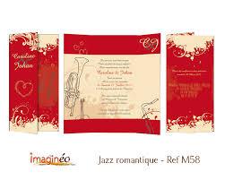 faire part mariage musique faire part mariage jazz romantique et ivoire saxophone