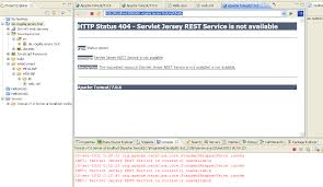 tutorial java jersey restful web service creation tutorial with java eclipse apache