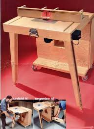 mobile router table plans