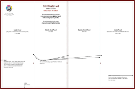 quad fold brochure template apa templates