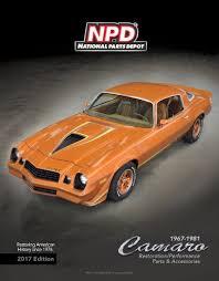 81 z28 camaro parts 67 81 camaro restoration parts catalog