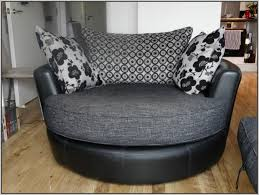 Sofa With Swivel Chair Gemini Chocolate Round Swivel Chair By Ashley Furniture Living