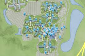Walt Disney World Resort Map Disabled Access Holidays Wheelchair Accessible Accommodation In