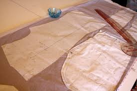 pattern making tissue paper gertie s new blog for better sewing cutting slippery fabrics with
