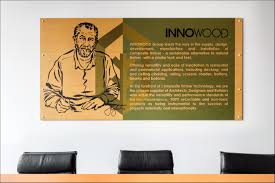 innowood sustainable composite timber cladding screening