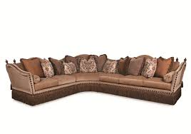 Classic Sectional Sofa Lorraine Fringed Sectional Sofa By Rachlin Classics Home