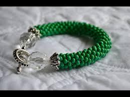 beaded rope bracelet images Glass beaded bracelet crocheted rope tutorial jpg